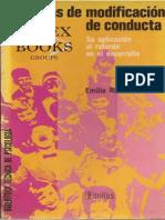Técnicas de modificación de conducta Su aplicación al retardo y al desarrollo - Emilio Ribes Iñesta.pdf