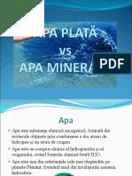 Apa minerală și plată.ppt