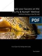 """Triple your Success on the """"Dry Fly & Nymph"""" Method (without buying a new fly rod)"""