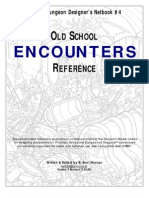 Cdd#4 - Encounters Reference