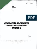 PDF Generacion de caudales mensuales en la sierra peruana meriss II (1).pdf