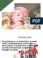 Generalidades Del Crecimiento y Desarrollo Humano