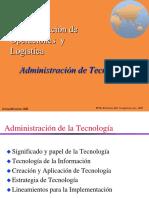 Administración de Tecnología