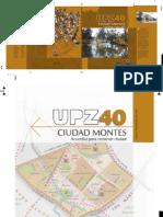 Upz 40 Ciudad Montes