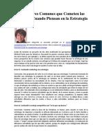 LECTURA 1 Cinco Errores Comunes Estrategia (Magretta)