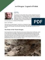 Smok the Wawel Dragon - Legend of Polish Folklore
