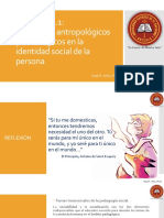 LECCIÓN 1.1 Referentes Antropológicos y Sociológicos en La Identidad Social de La Persona