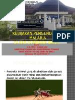 Kebijakan Malaria Ksb