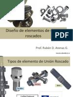 Elementos de Maquinas I Elementos de Union Roscados