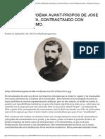 Analisis Del Poema Avant-propos de Jose Asuncion Silva, Contrastando Con El Romanticismo