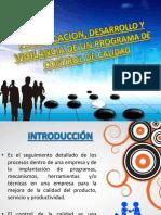 Planificación, Desarrollo y Vigilancia de Un Programa de control