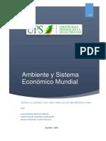 Ambiente y Sistema Económico Mundial