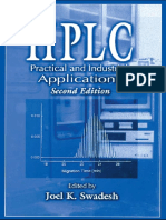 12051.HPLC Practical and Industrial Applications, Second Edition (Analytical Chemistry) by Joel K. Swadesh