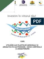 Utilizarea plantelor medicinale si aromatice in gastronomie, igiena corporala si aromoterapie (curs).pdf