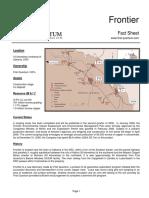 First Quantum Minerals Frontier_Fact Sheet_2006