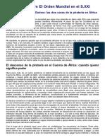 Somalia y Golfo de Ginea. Las Dos Caras de La Pitatería en África