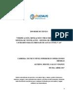 Informe Sr. Gallo Centro de Formación Técnica Uce Valpo