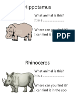 Animal Safari Ppt