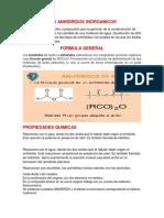 ANIHIDRIDOS-halogenuros