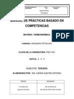 Manual de Prácticas Termodinámica 03