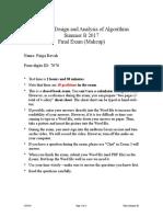 final summer b 17 makeup revah pdf