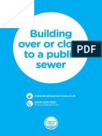 Guidance for Building Over a Sewer