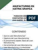 Lean Manufacturing Aplicado a La Industria Grafica