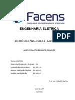 Relatório 1 - Amplificador Emissor Comum