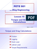 15. Torque and Drag Calculations.ppt