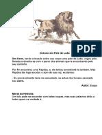 O Asno em Pele de Leão.doc
