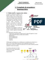 Hematología Tema 21 Transplante progenitores hematopoyéticos