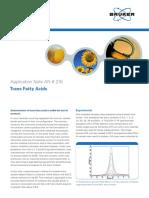 Bruker-Trans Fatty Acids