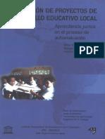 Evaluación de Proyectos de Desarrollo Educativo Local