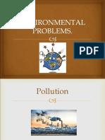 1.- Environmental Problems