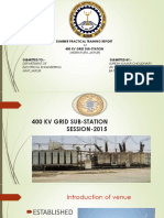 ppt on 400 kv gss heerapura