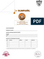 Ficha de Inscripcion Olimpiañil