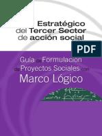 Guía de Formulación de  Proyectos Sociales con Marco Logico