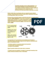 Engranaje Es Un Mecanismo Formado Por Dos Ruedas Dentadas1