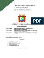 Informe Practica de Campo de aguas supeficiales