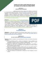 Reglamento Operativo de La Subcuenta Proteccion Marino Costero IDB FAPVS Revisado Por Abogada