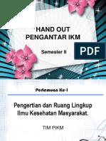 Pengantar IKM 1-14