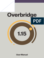 Overbridge 1.15 Manual