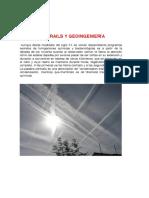 Chemtrails y Geoingeniería