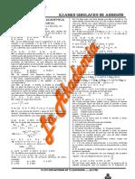 Examen Dominical (30 Enero 2011)