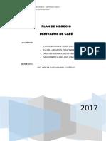 Plan de Negocio - Producto Derivados de Café FINAL