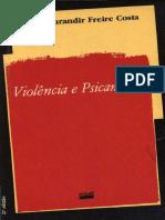 Jurandir F. Costa - Violência e psicanálise.pdf