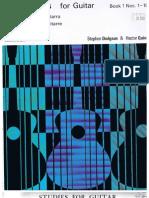 Dodgson, Stephen & Quine, h. - 10 Studies for Guitar