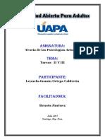 Actividades de la tarea II Psicologia actual Leonela 1.docx