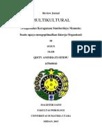 REVIEW JURNAL Multikultural