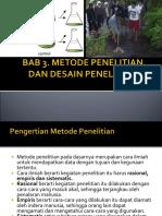 metodepenelitiandandesainpenelitian-140714030552-phpapp01